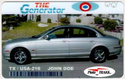 Photo Trakk 1000 Bronze Vehicle ID Card Online