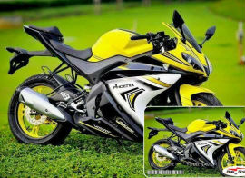 Harga Minerva RX 150 Sports Motor Bike with Demo Photo Trakk ID Card